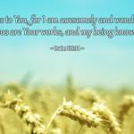 awesomely and wondrously made psalm 139:14
